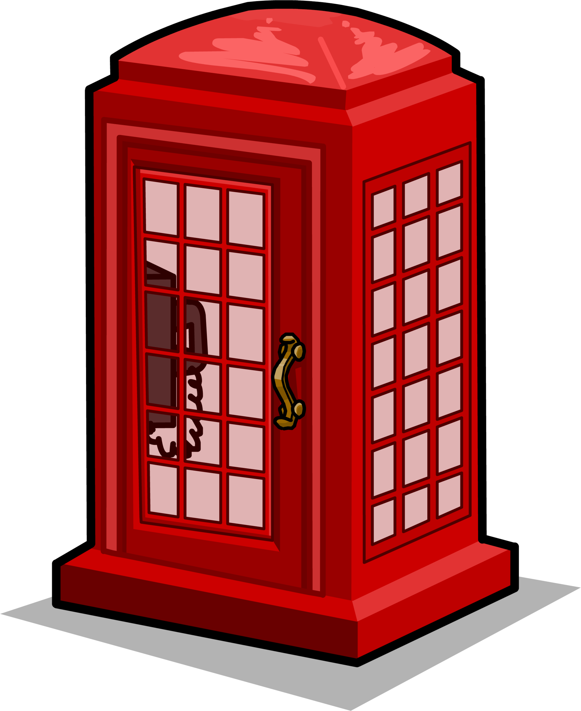 Telephone clipart red telephone. Phone booth png image