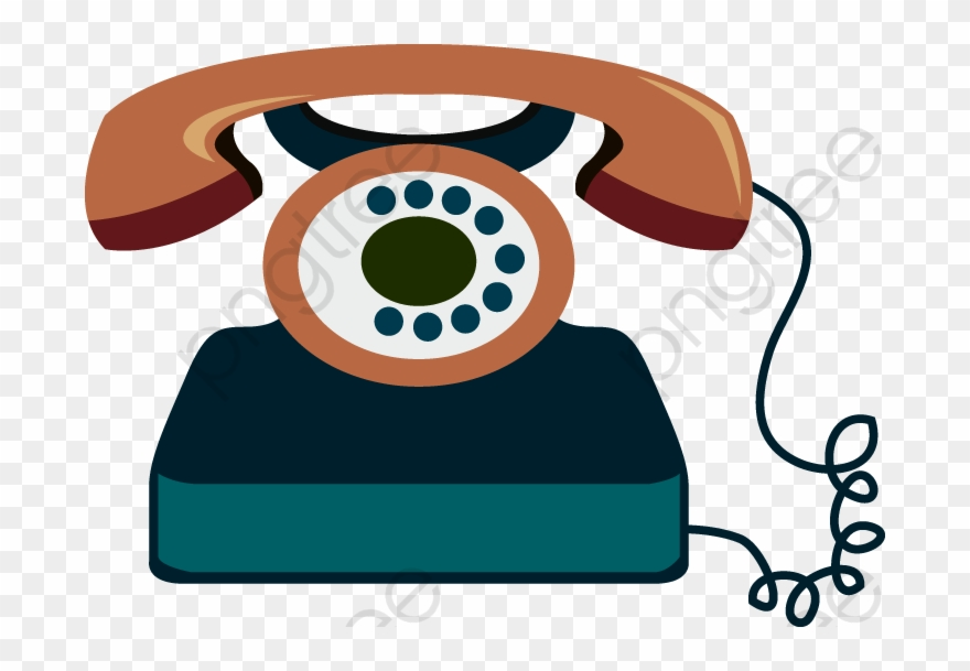 Telefono png download . Telephone clipart cartoon