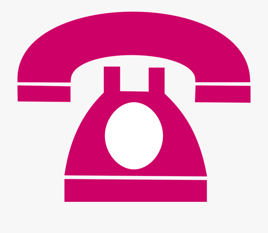 Dial plate retro phone. Telephone clipart clip art pink