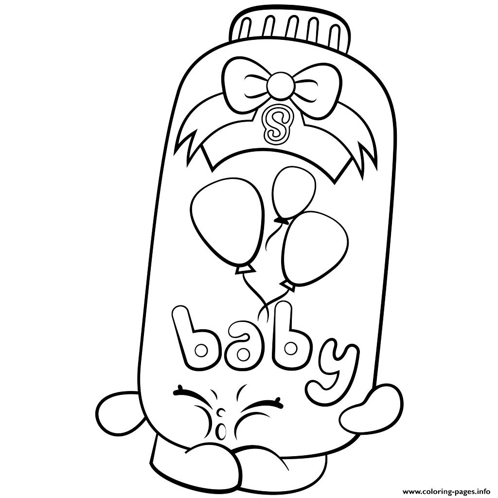 Poppy clipart coloring sheet. Print powder baby puff