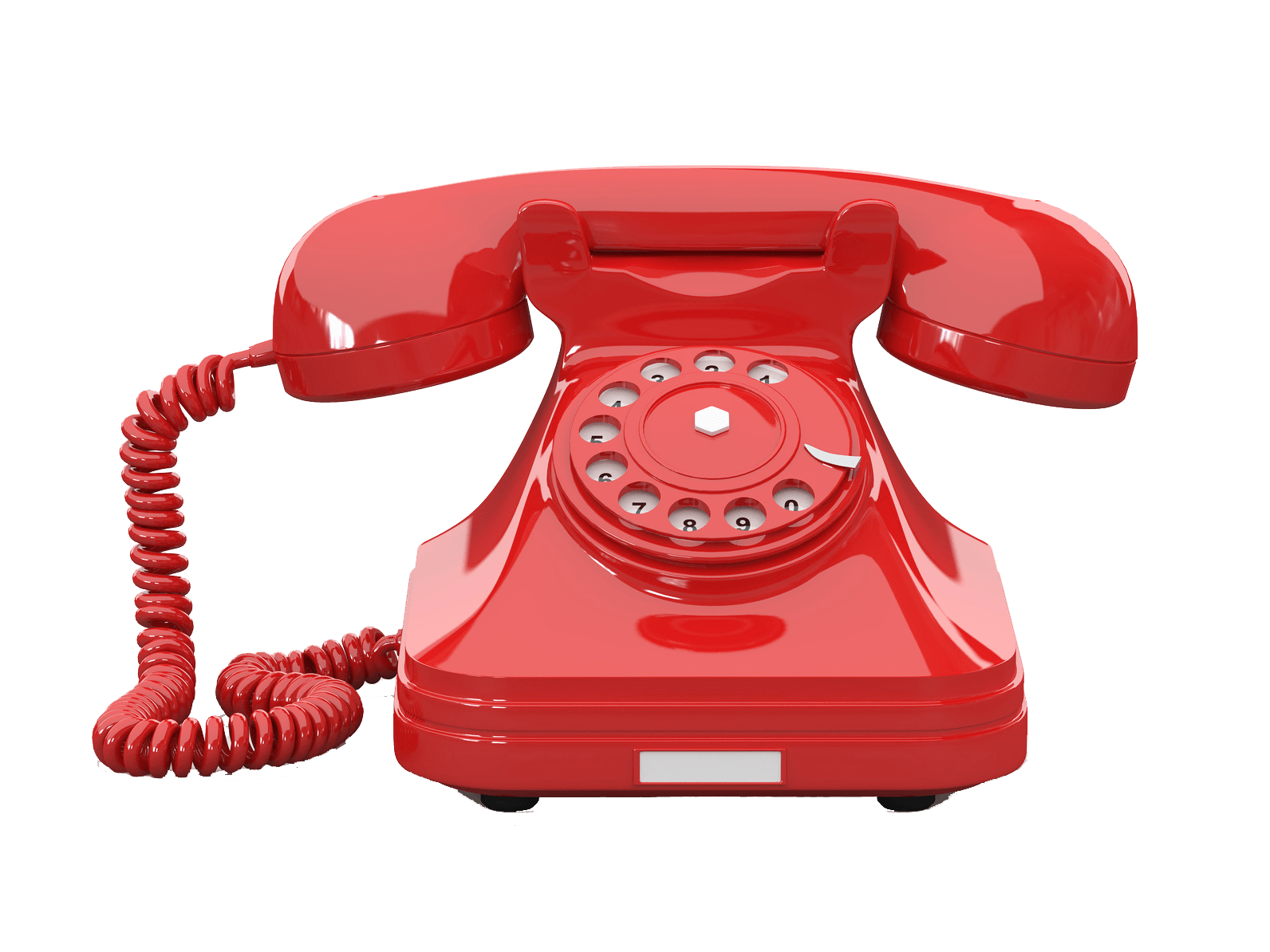 Telephone clipart corded phone. Red transparent png stickpng