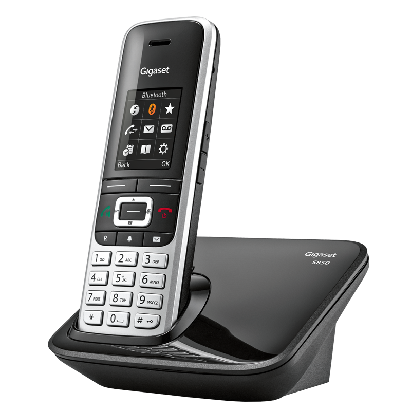 Gigaset s black price. Telephone clipart cordless telephone