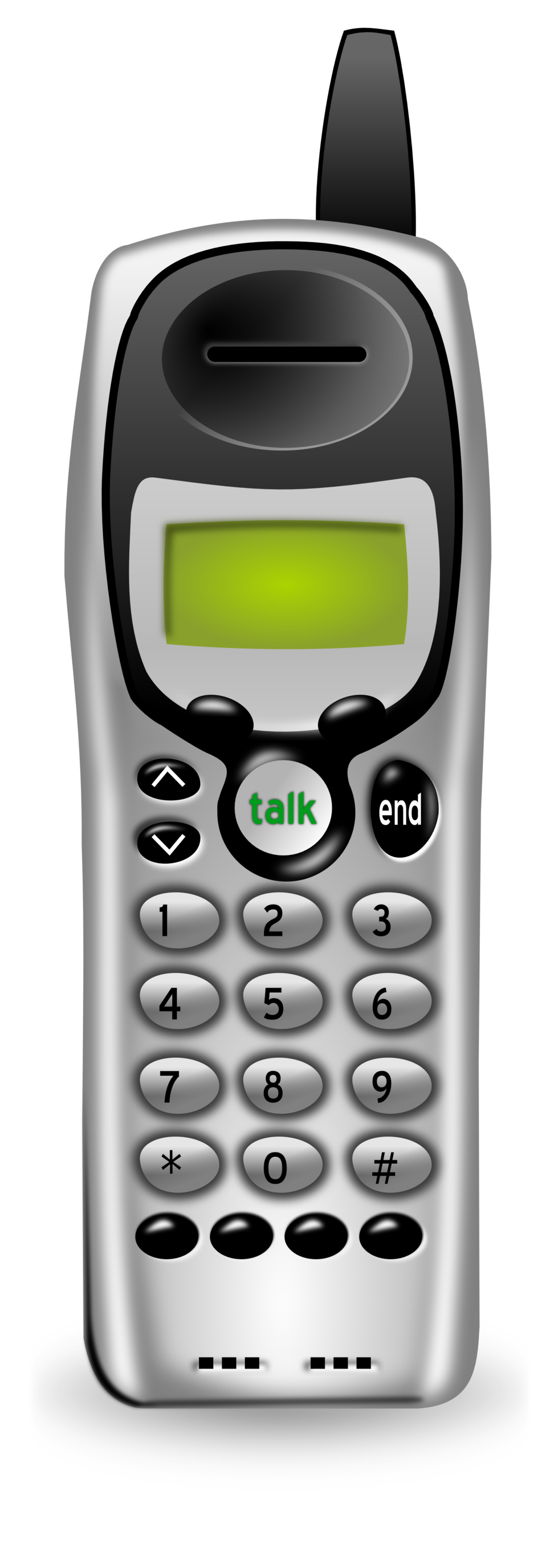 Telephone clipart cordless telephone. Public domain clip art