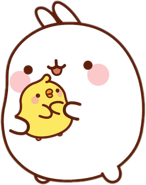 Marshmallow clipart super cute cute. Image result for molang