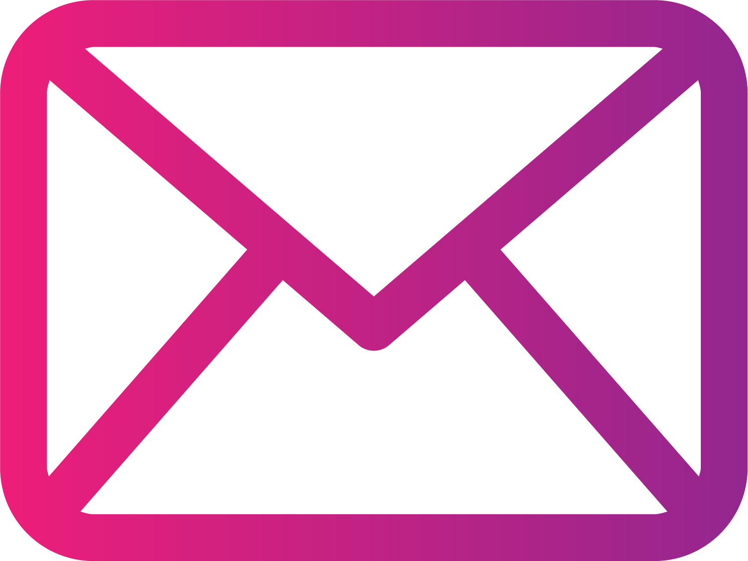 Email png images marketing. Mail clipart pink