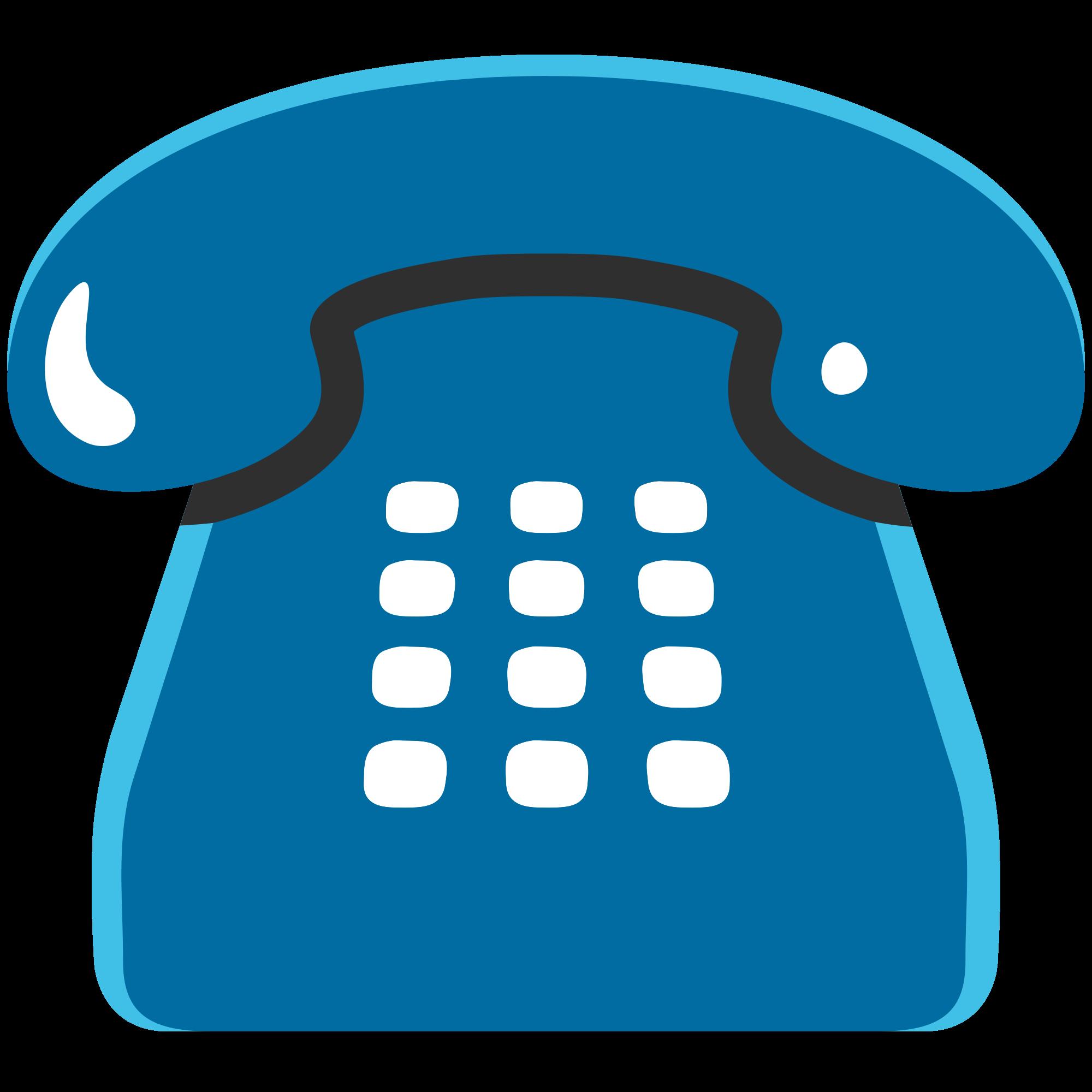 Telephone clipart emoji. File u e svg