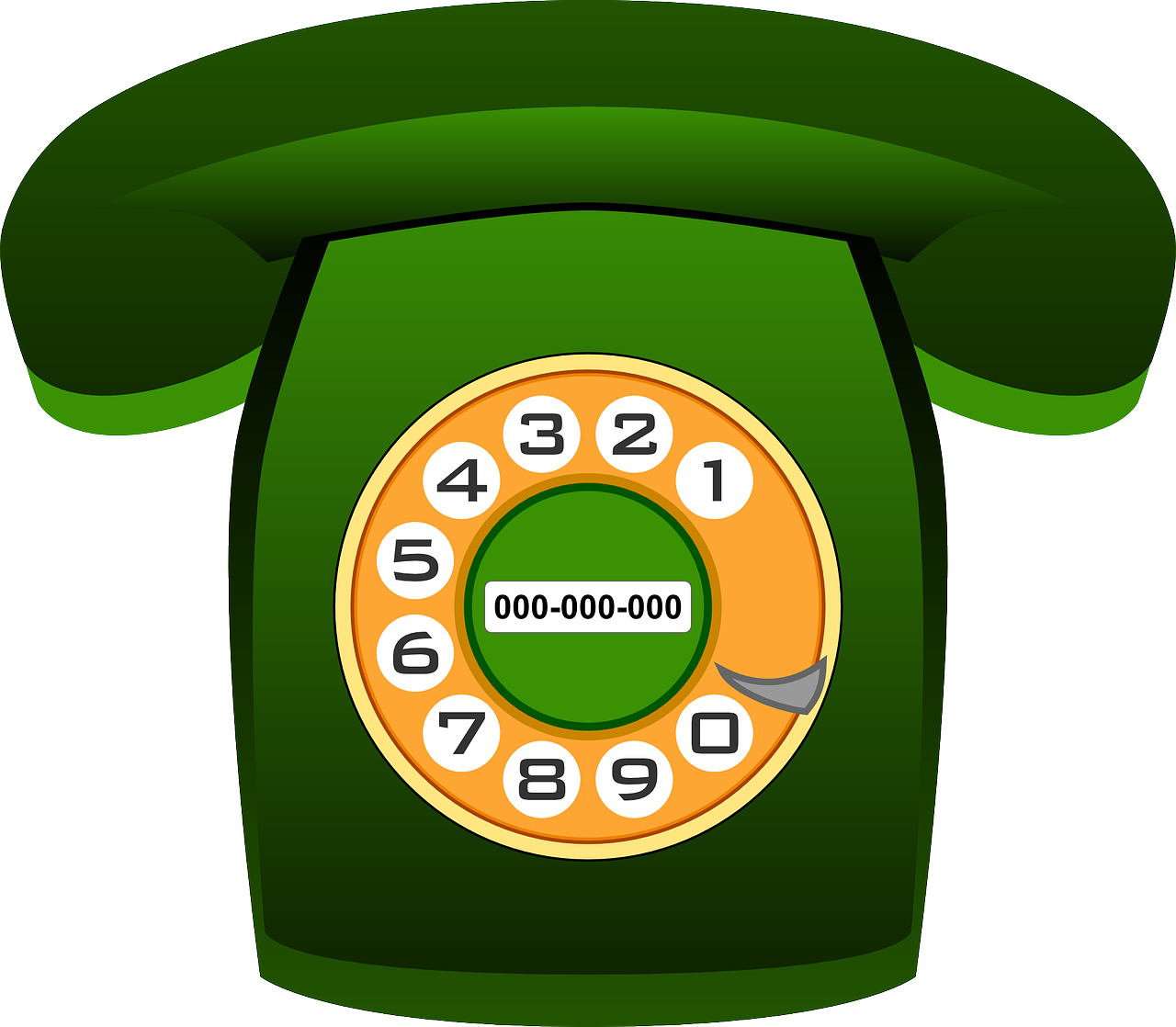 Old phone png image. Telephone clipart telephone communication