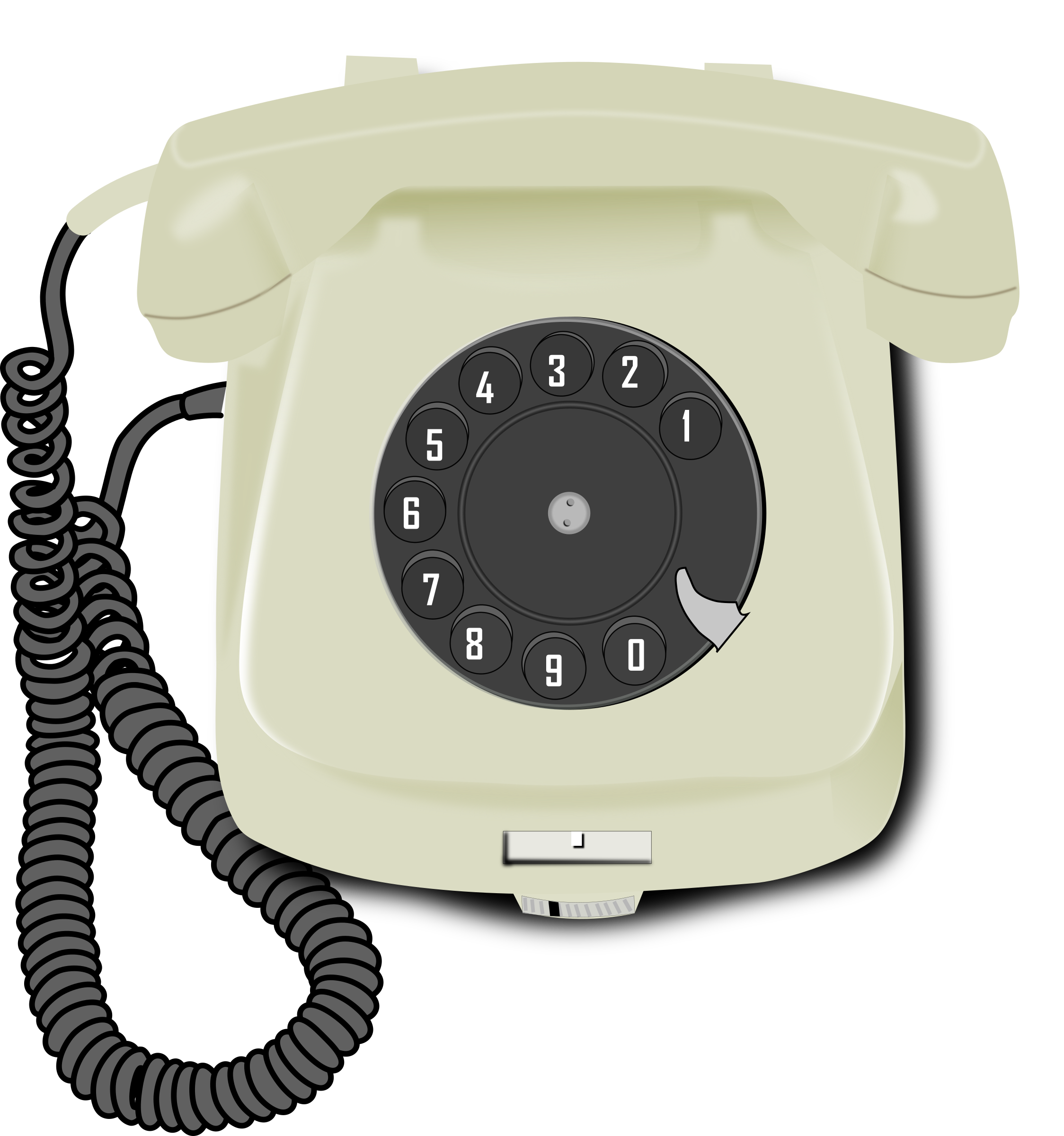 Phone clipart corded phone. Old icons png free