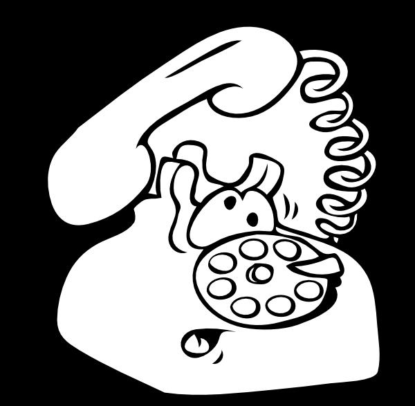 Clipart telephone outline. Phone clipartblack com tools