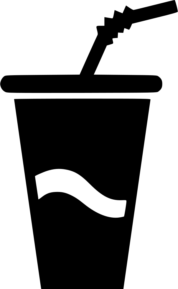 Big Paper Cup Drink Soda Water Svg Png Icon Free Download