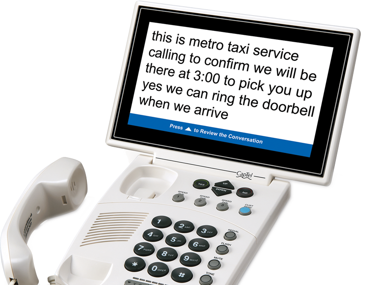 Captioned telephones for hearing. Telephone clipart telephone conversation
