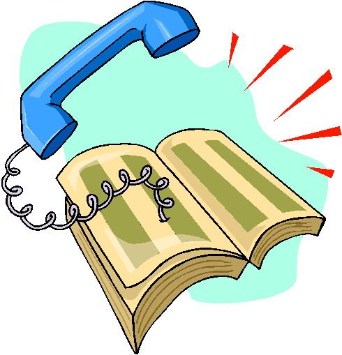 Free clip art sourcing. Clipart telephone phone directory