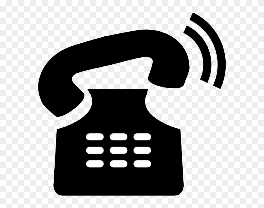 Telephone clipart phone ring. A starts to go