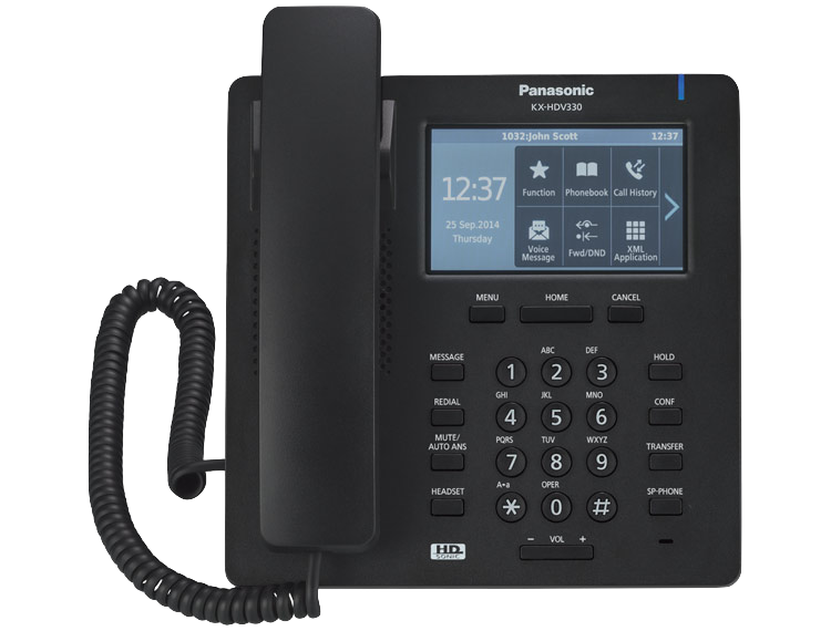 Telephone clipart corded phone. Panasonic unified communications system