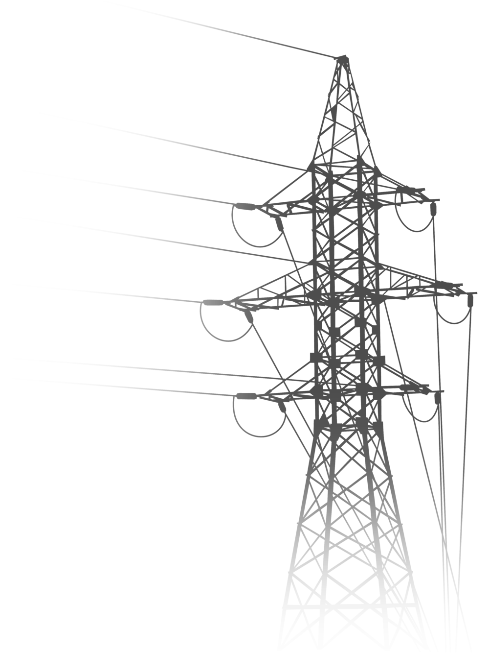 Power line drawing at. Electric clipart electrical transformer