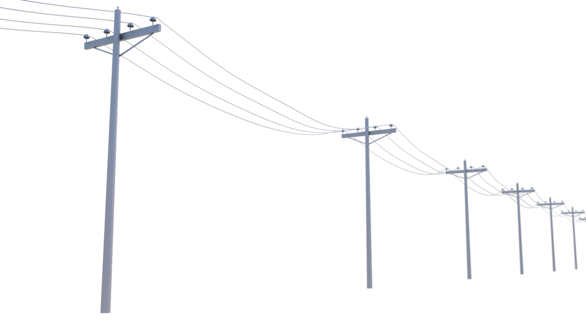 Poles by regusmartin on. Electrical clipart utility