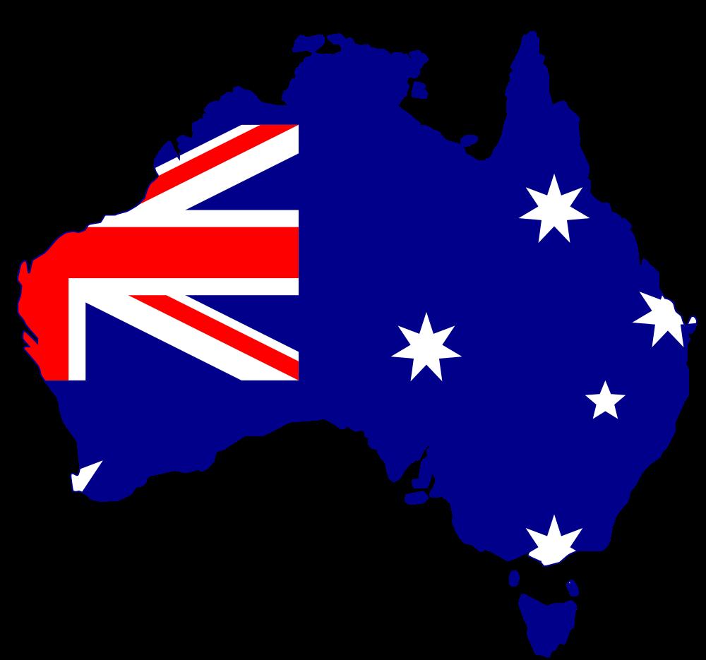 Silhouette australia pinterest flags. Markers clipart flag