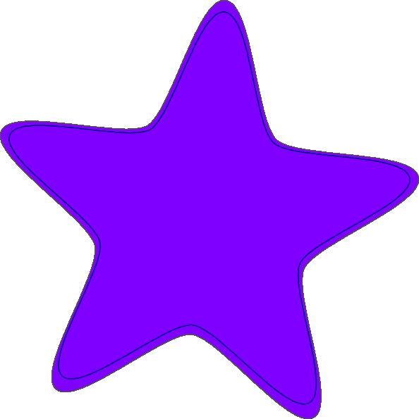 Star clip art vector. Telephone clipart purple