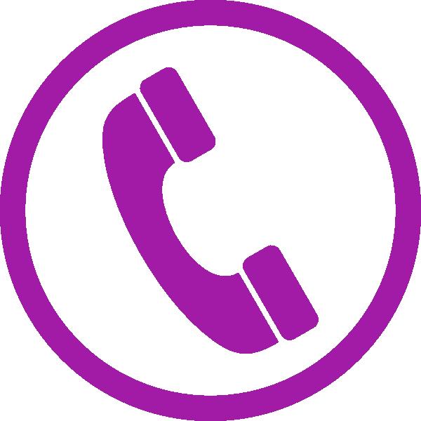 Telephone clipart purple. Phone clip art at