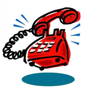 The phone road to. Clipart telephone rang