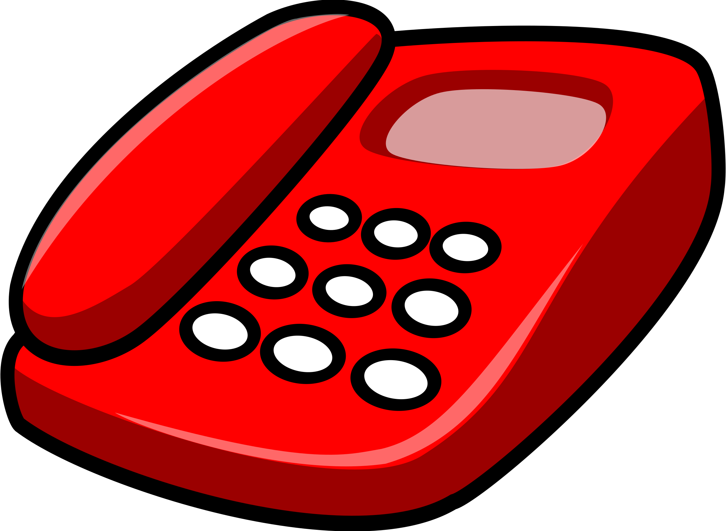 Mimooh big image png. Telephone clipart red telephone