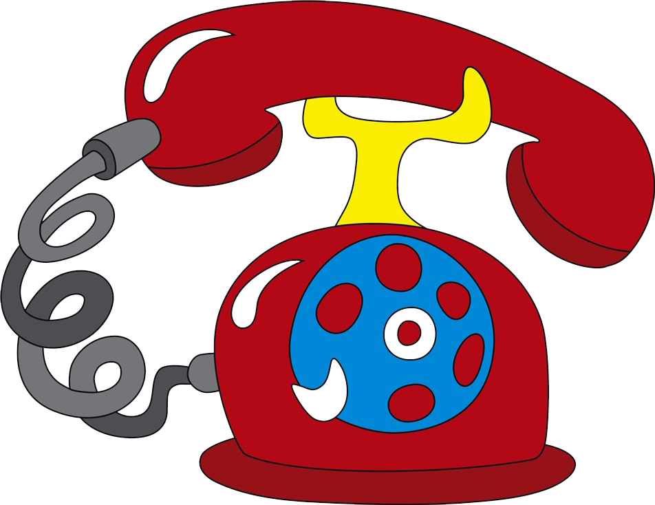 Telephone clipart rotary dial phone. Mobile icon cartoon hand