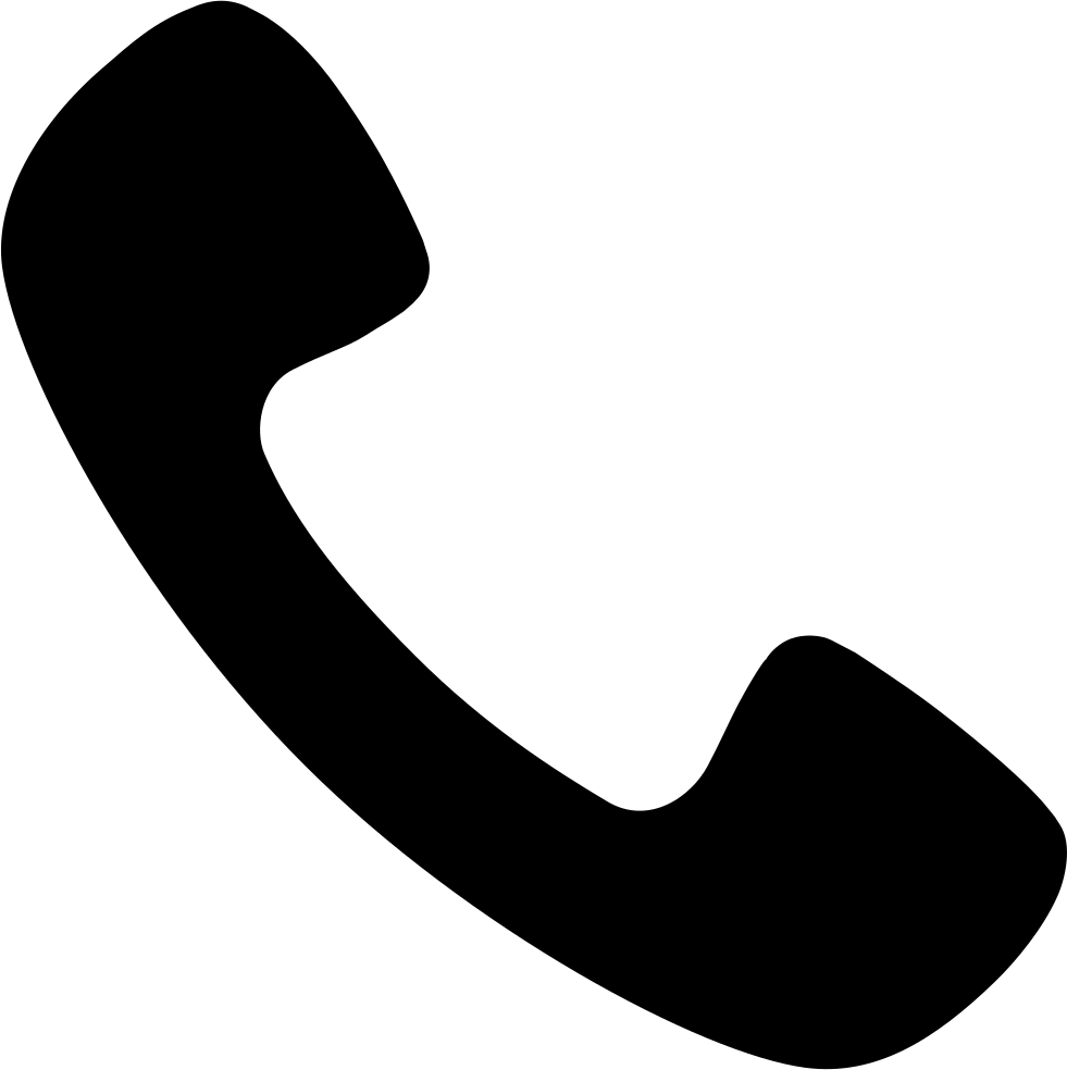 Svg png icon free. Clipart telephone solid thing