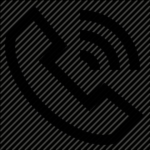 Clipart telephone speakerphone. Black circle text font
