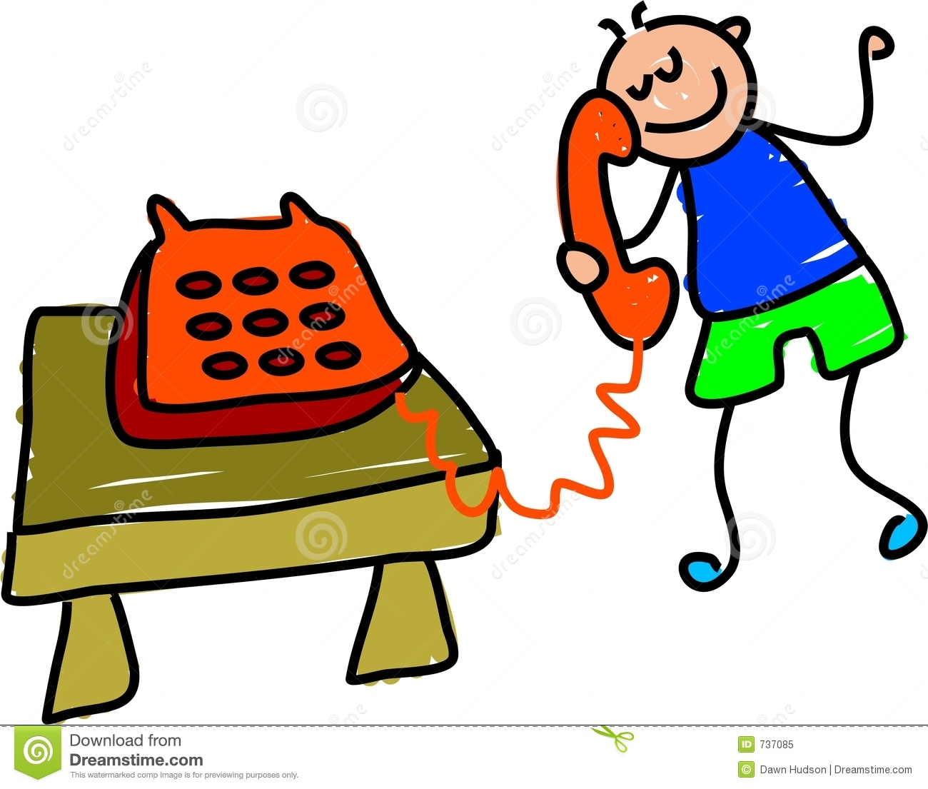 Telephone clipart telephonic conversation.  talking on the