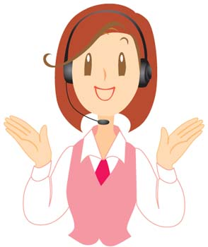 Clip art vector . Clipart telephone telephone operator