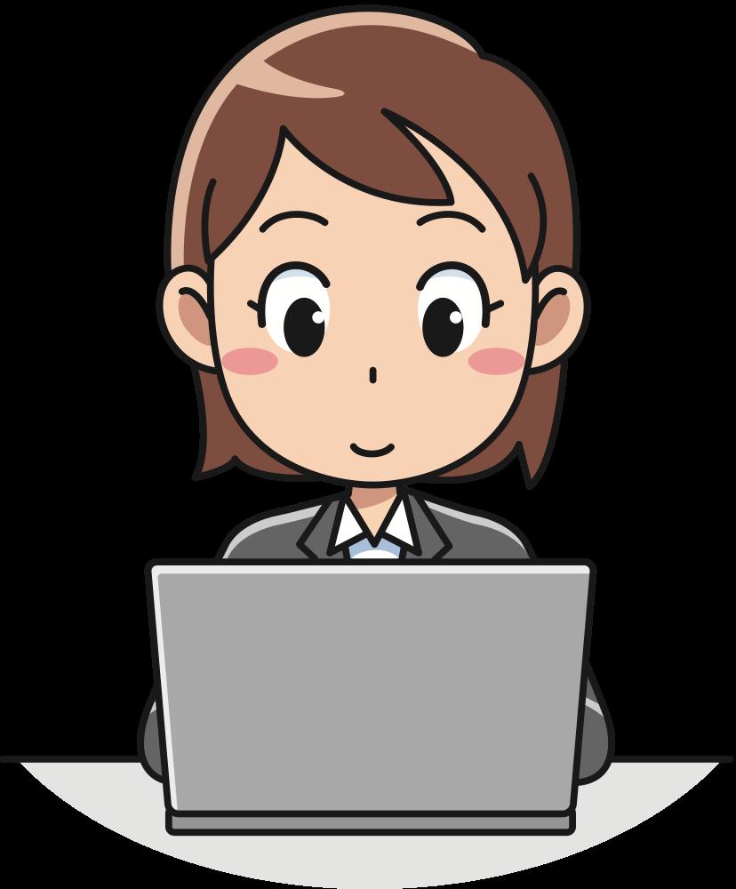 Professional clipart professional lady. Onlinelabels clip art female