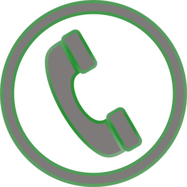 Phone icon clip art. Telephone clipart telephone symbol