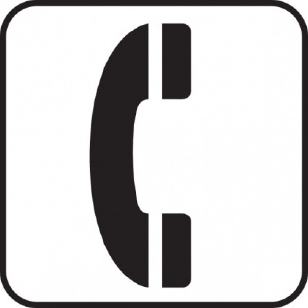 Free images download clip. Telephone clipart telephone symbol