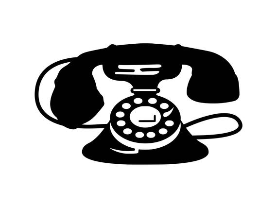 Telephone clipart antique telephone. Vintage phone svg old