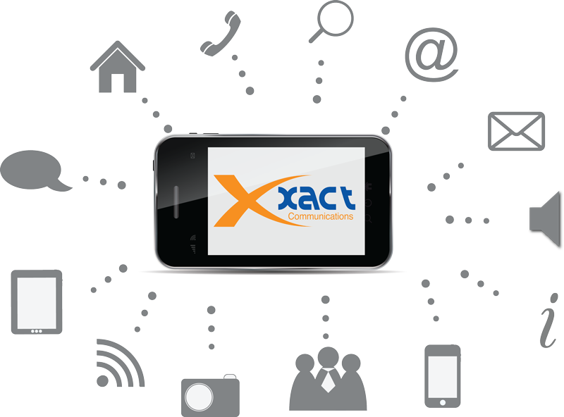 Services phone systems xact. Telephone clipart communication technology