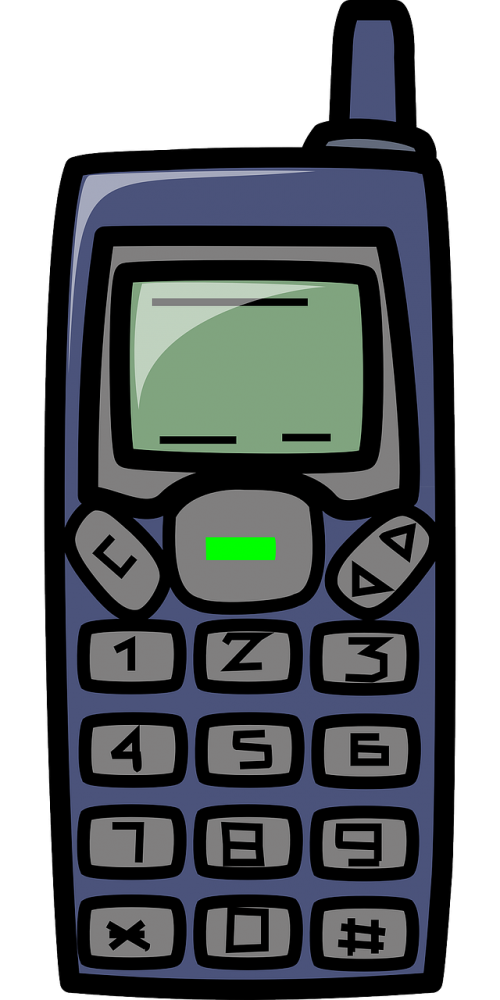 Mobile cell phone telecommunicatios. Clipart telephone wireless telephone