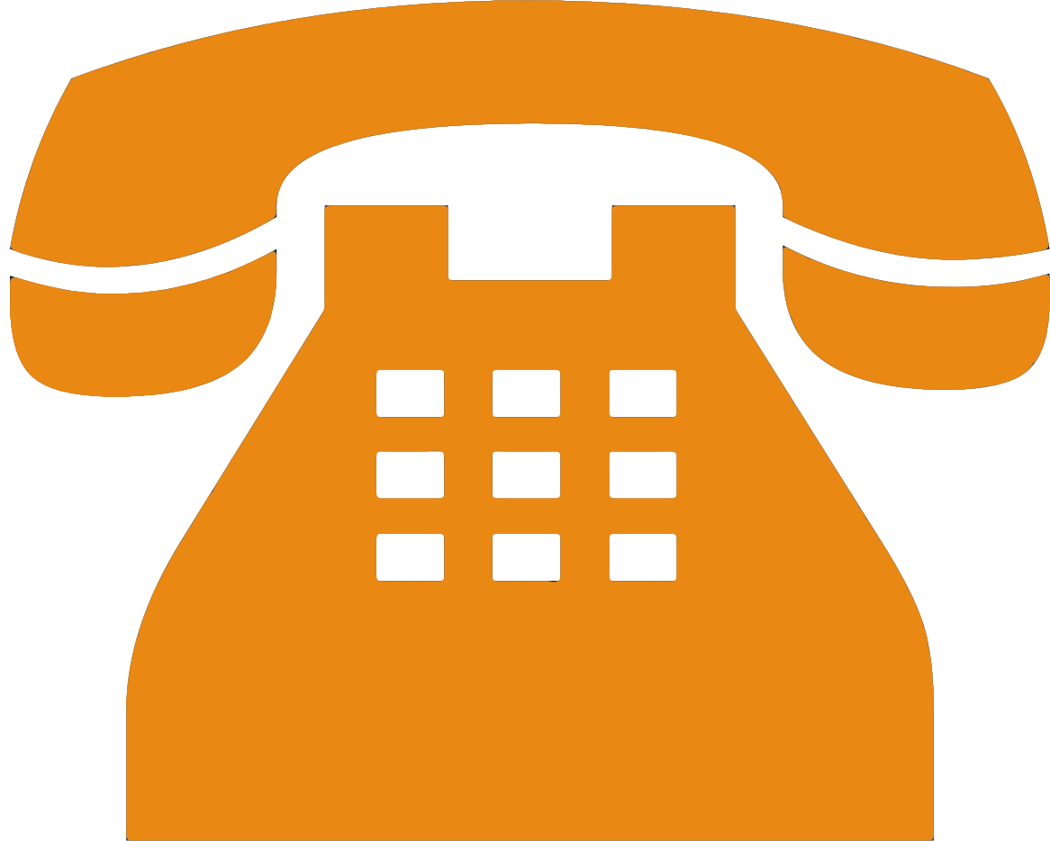 Yellow old png transparent. Telephone clipart phone orange