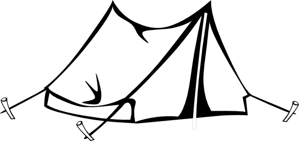 Camping . Clipart tent