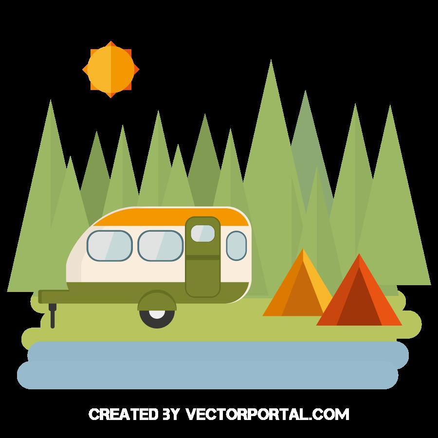 Clip art vector transprent. Clipart tent beach camping