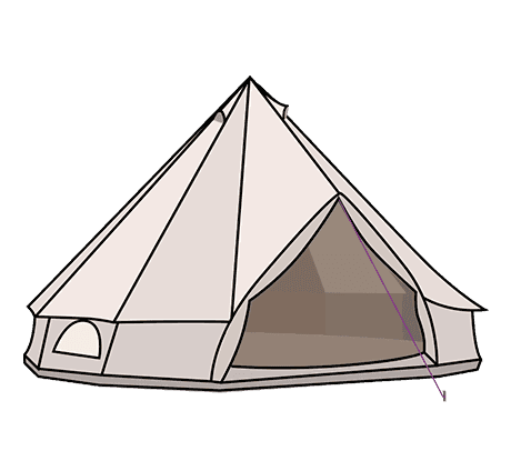 Guide . Clipart tent bell tent