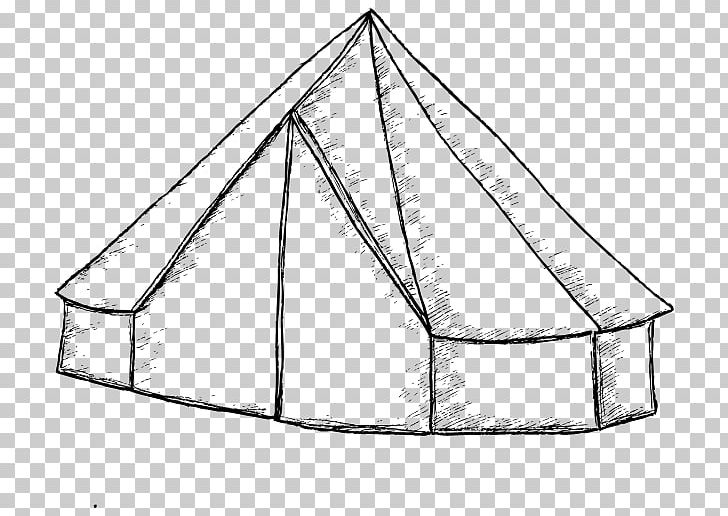 Clipart tent bell tent. Drawing camping line art