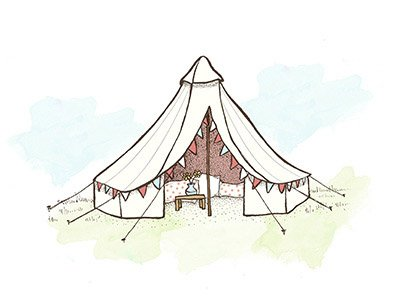 Glampsites com find book. Clipart tent bell tent
