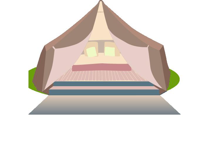 Glamping robertsbridge east sussex. Clipart tent bell tent