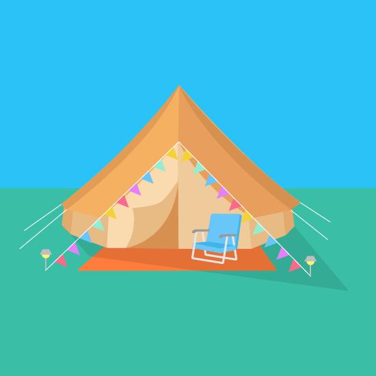 clipart tent bell tent