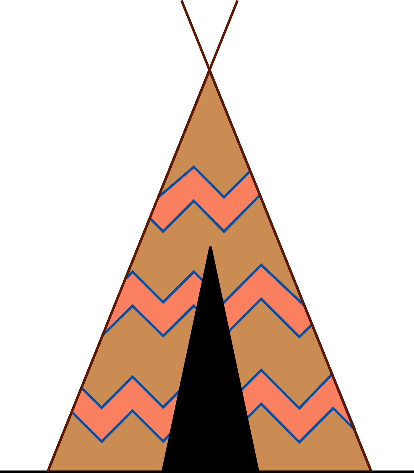 collection of svg. Woodland clipart teepee