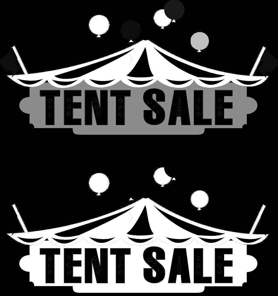 Sale free stock photo. Clipart tent border