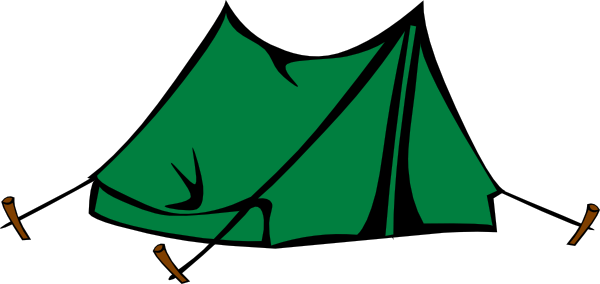 Clipart tent camping trip. Camp cliparts zone