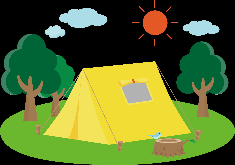 Campsite big image png. Clipart tent camping trip