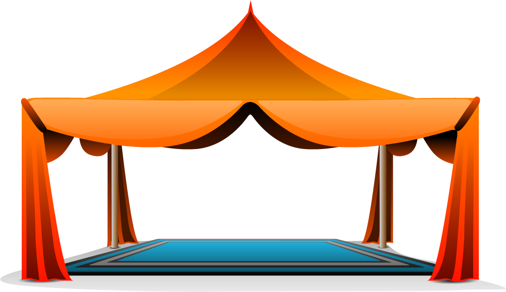 Clipart tent canopy. Play by zvi on