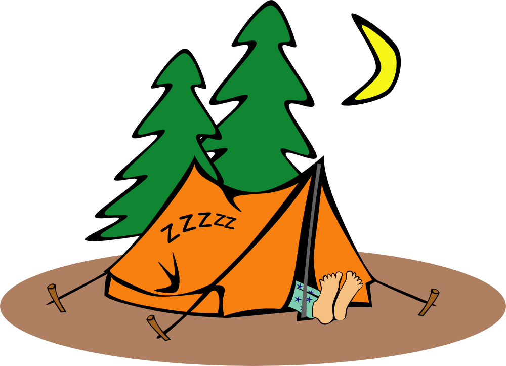 Free camping cartoon images. Clipart tent comic